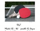 Turnaj v ping pongu - 12. 3. 2012