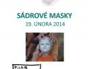 Výroba sádrových masek - 19. 2. 2014