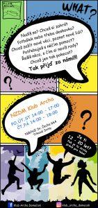 Plakátek NZDM Klub Archa (1)
